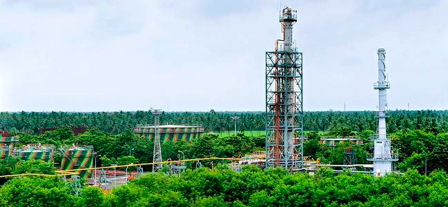 oil-and-gas-plant modi
