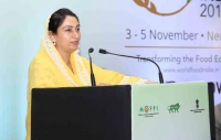 Harsimrat Kaur Badal, India's Ministry of Food Processing Industries