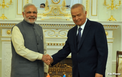India taps Central Asia for energy security