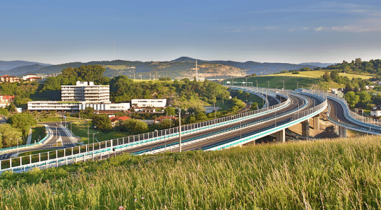 An EBRD-backed infrastructure project