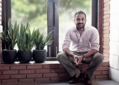 Anuj Rakyan founder and Managing Director of Raw Pressery
