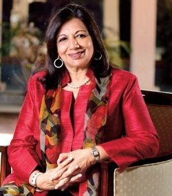 Kiran Mazumdar-Shaw Chairman and Managing Director - BIOCON LTD