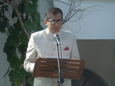 Pavan Kapoor -Indian Ambassador based in Tel Aviv