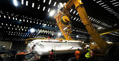 Scottish firm completes submarine rescue system for Indian Navy