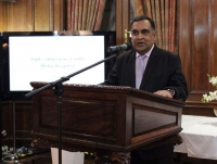 Y . k Sinha Indian high commissioner to the UK