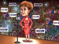 Nicola Sturgeon, outspoken First Minister - Scotland