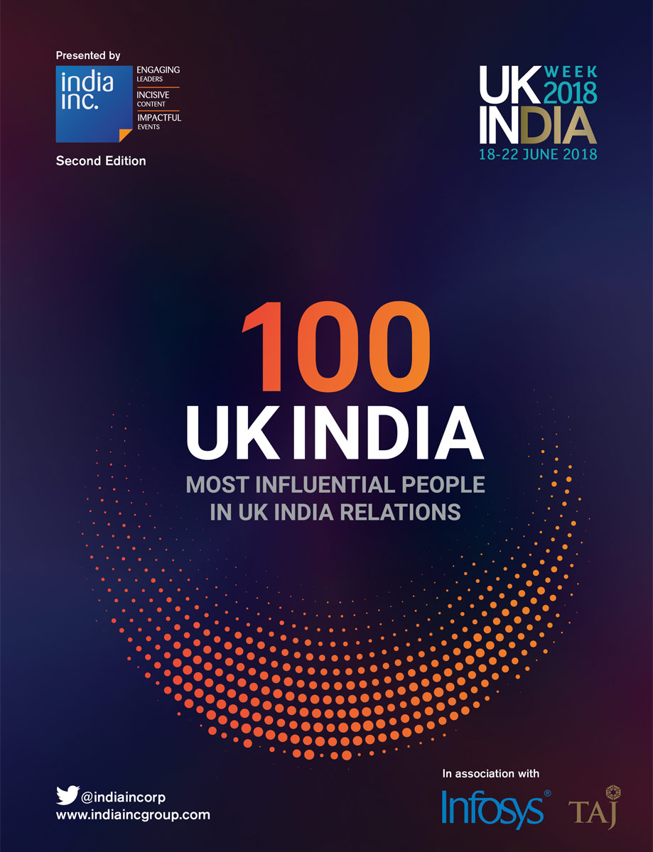 UK India 100 Most Influential 2018 - India Inc Group