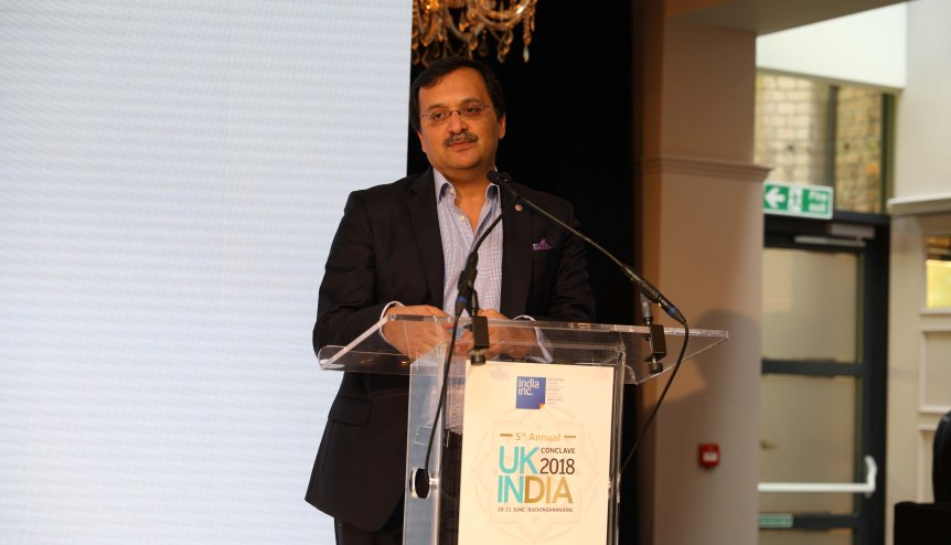 Dinesh K. Patnaik, Joint Secretary in the Ministry of External Affair