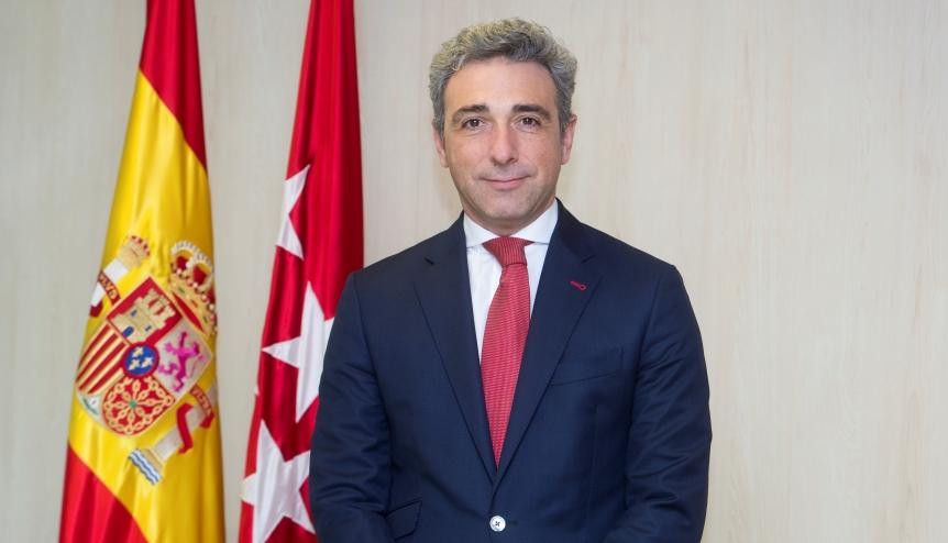 Javier Ruiz Santiago, Regional Ministry of Economy, Employment and Finance of the Madrid Region