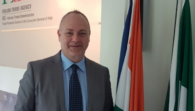 Fabrizio Giustarini ,Italian Trade Agency in Mumbai