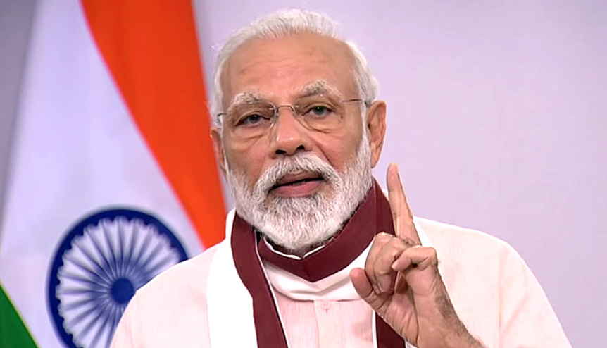 'Revival not Survival,' says Modi in dramatic address