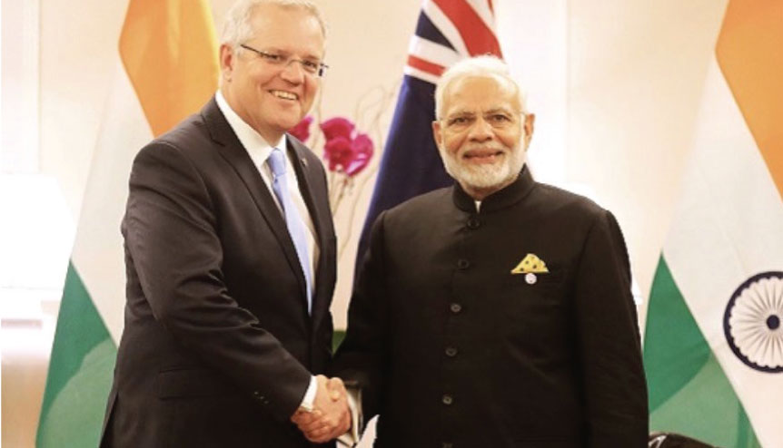 Can virtual talks lead to real actions for Australia and India