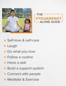 Deepika Padukone's #YouAreNotAlone Covid-19 guide