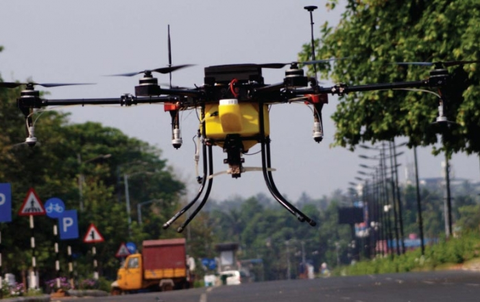 Drone operations, India's secret weapon against Covid-19- 4