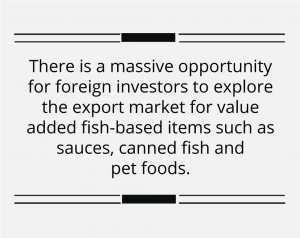 Government allocation for the fisheries sector boosts economic fundamentals