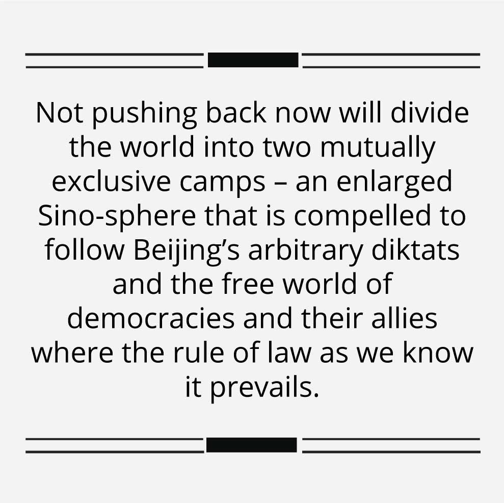 The world has to stand up to the blatant Chinese power grab in Hong Kong- Blurb1