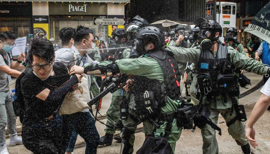 The world has to stand up to the blatant Chinese power grab in Hong Kong