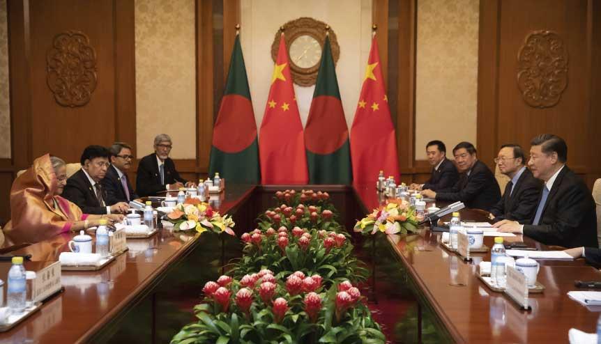 China's imperialist eye turns to Bangladesh