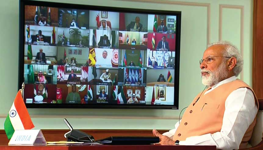 India's outreach creates a new paradigm in