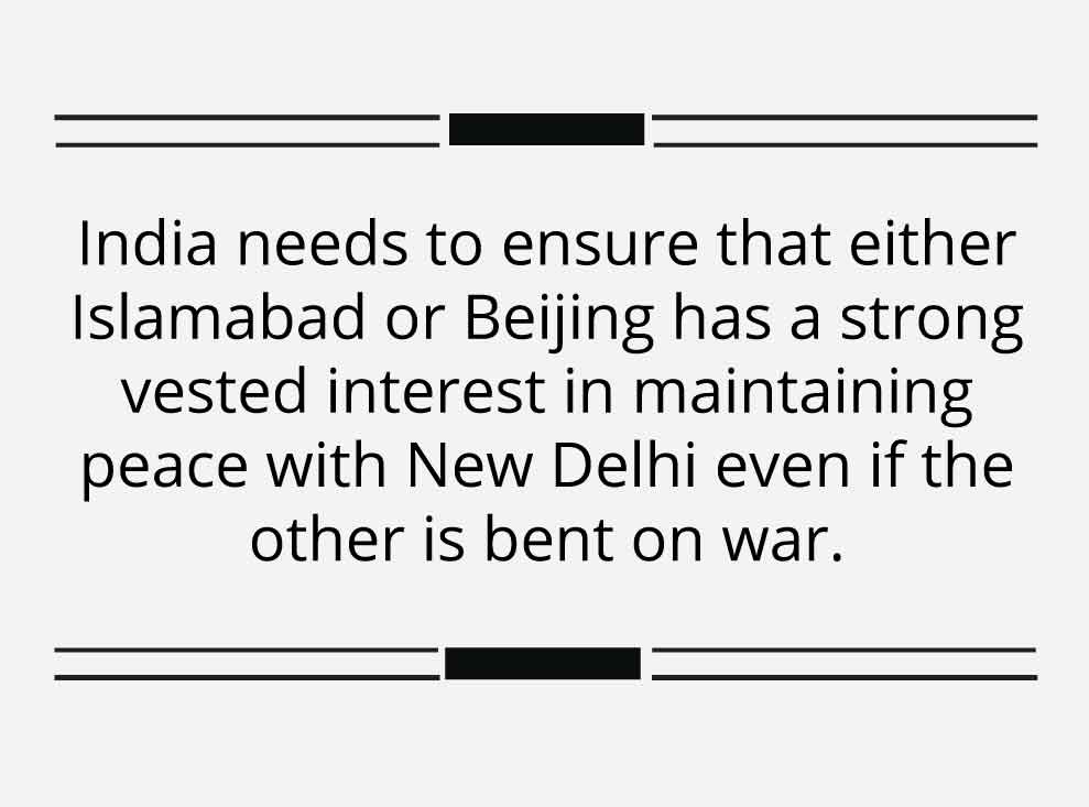 India has several options to fend off Chinese aggression