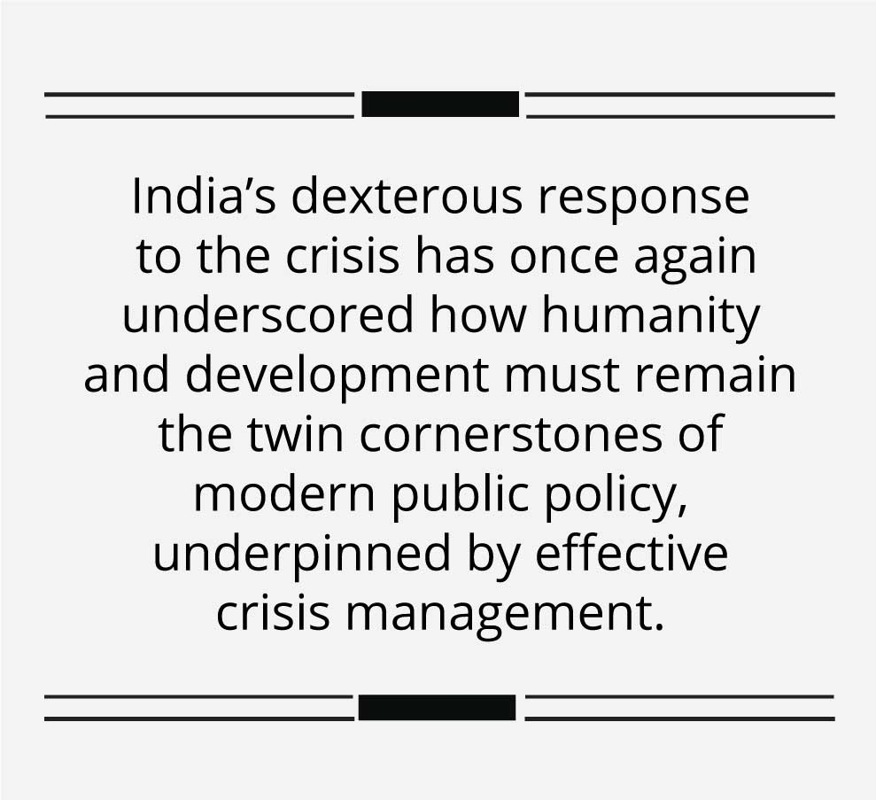 India has turned a grave crisis into a beacon of opportunity