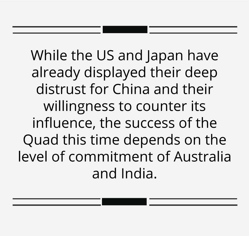 India holds the key to the success of Quad 2.0