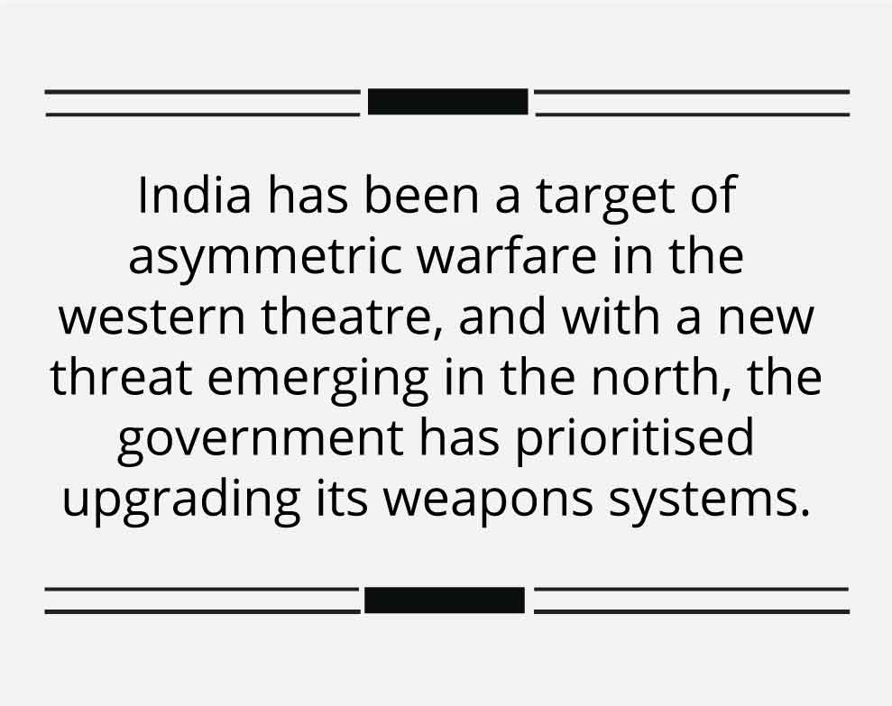 India in the age of swarm drones