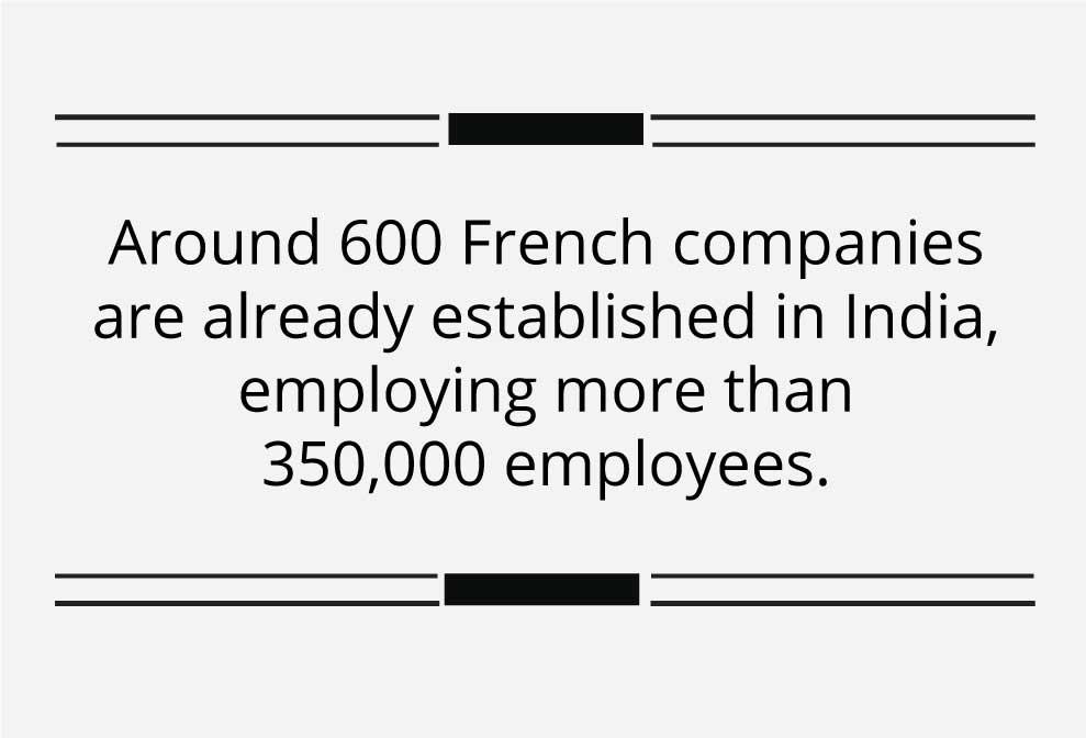 India is and will remain a market of the future for French companies