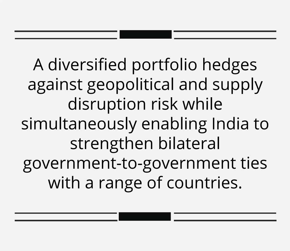 India is shopping for oil assets abroad