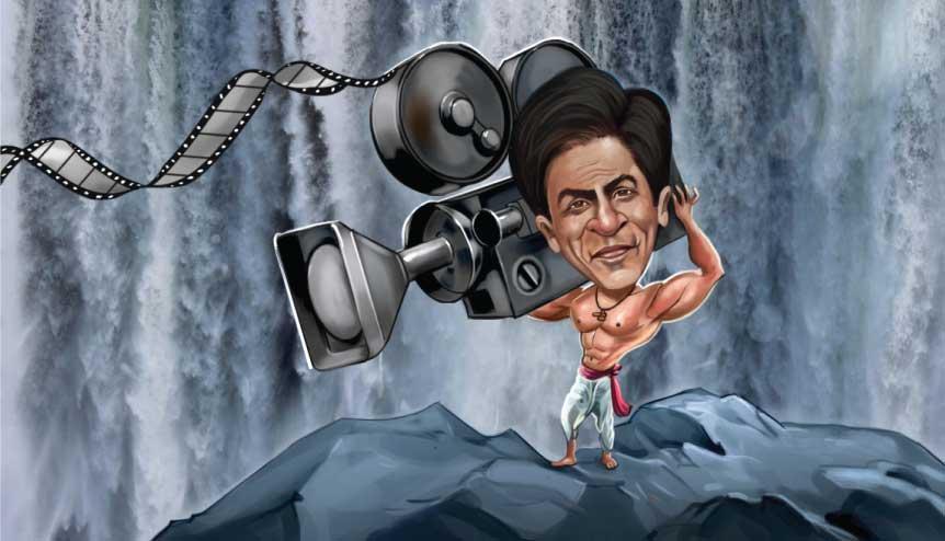 Indian Cinema- Caricature