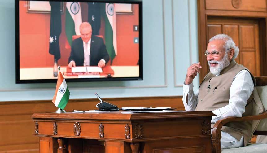 Modi, Morrison close ranks against undeclared Chinese assault