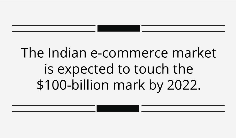 Rural India drives the boom in Indian e-commerce sector
