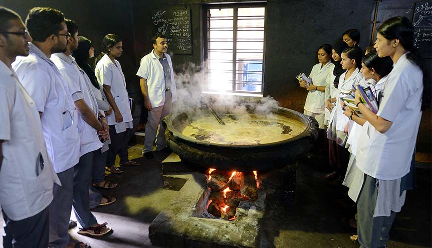 A modern market surges for India's ancient science
