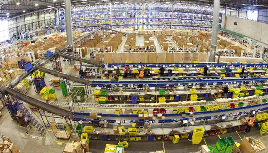 Amazon to open 10 new fulfilment centres in India