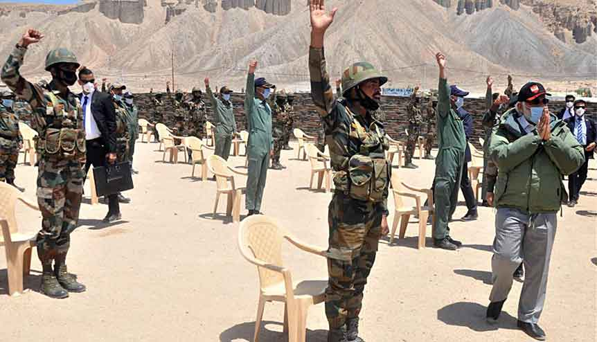 India beefs up its military might amidst border tension