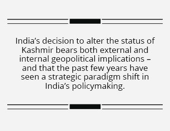 India replaces strategic ambiguity with strategic capability