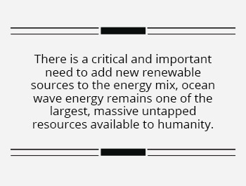 Ocean Wave Energy A Significant Renewable Energy and Manufacturing Opportunity for India- Blurb1