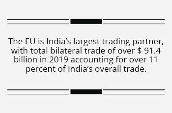 Pandemic gives a renewed thrust to India-EU ties
