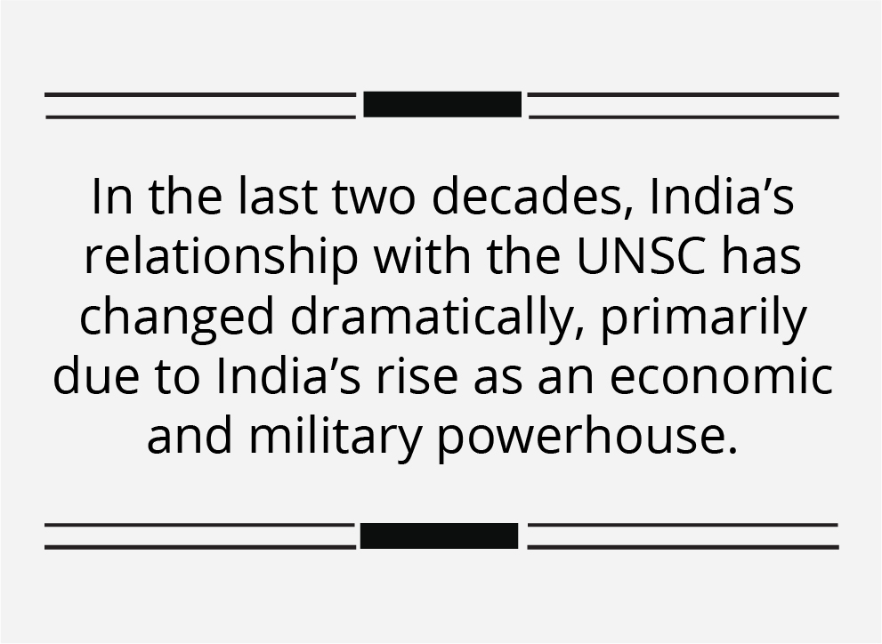 Terrorism, multilateralism and reforms will dominate India's UNSC agenda