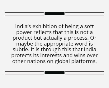 The world looks at India with eagerness, not curiosity