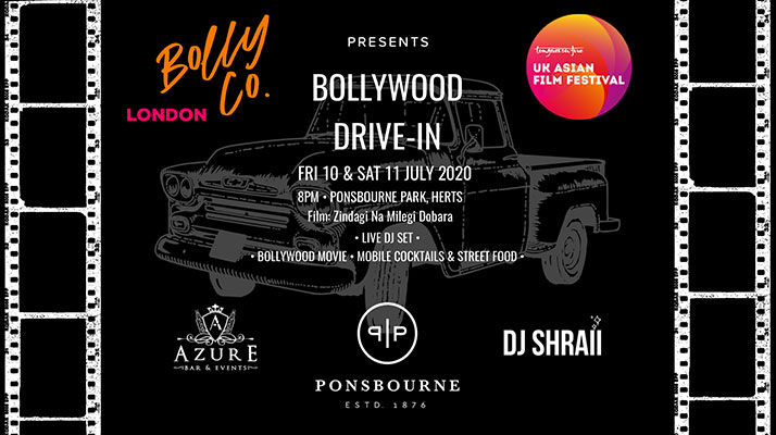 UK film fest beats lockdown blues with Bollywood Drive-In fun