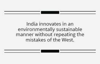 Why India leads the way with sustainable innovation
