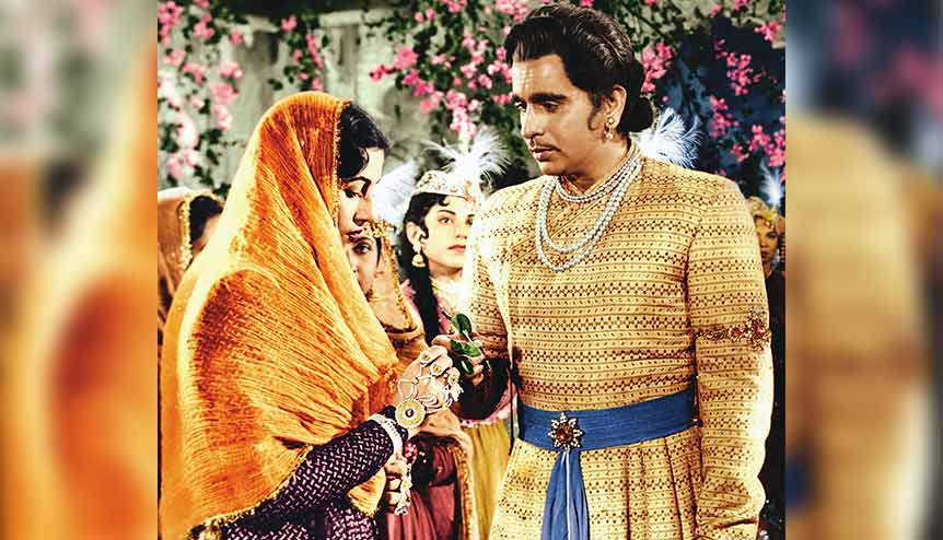 An Oscar library entry marks 60th year of 'Mughal-e-Azam'