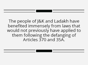 Away from media glare, J&K, Ladakh are making real progress at last