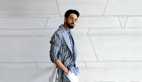 Ayushmann Khurrana celebrates being back on Bollywood sets