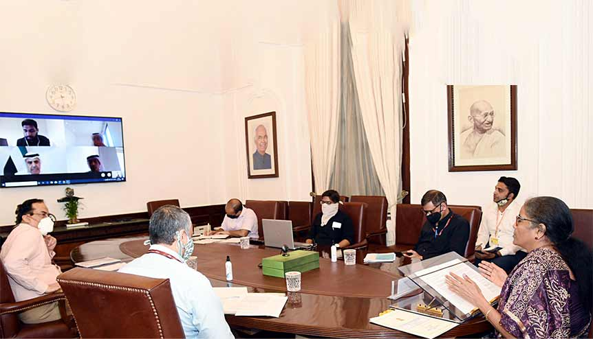 India and the UAE seek to enhance commercial ties