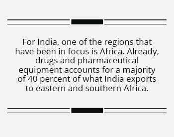 India can shine bright in the Dark Continent