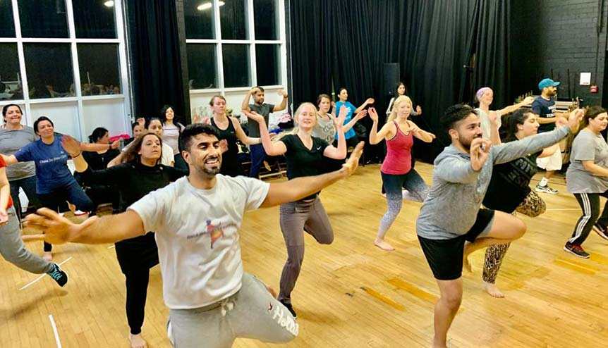 Interview How energetic Bhangra beats helped unite a locked down nation