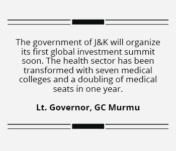 J&K will organize its first global investment summit soon says Murmu