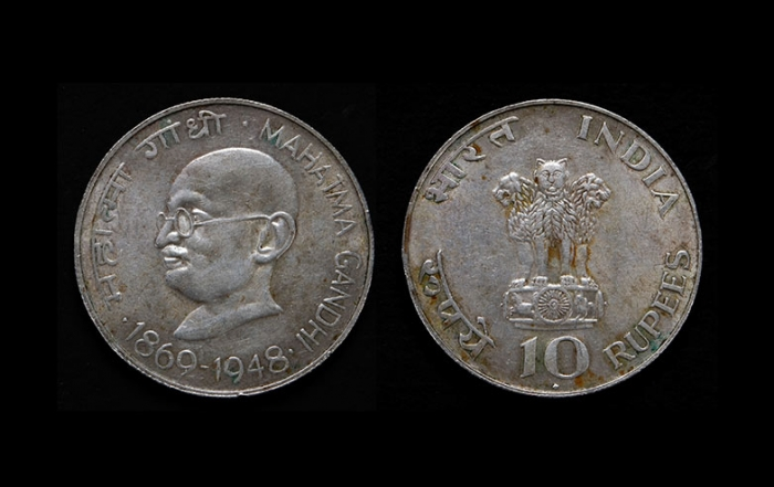 Mahatma Gandhi on UK coinage only the start